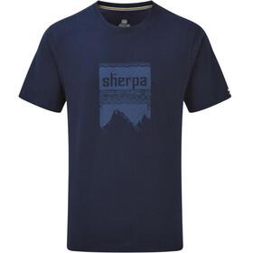 Sherpa Khangri - Camiseta manga corta Hombre - azul